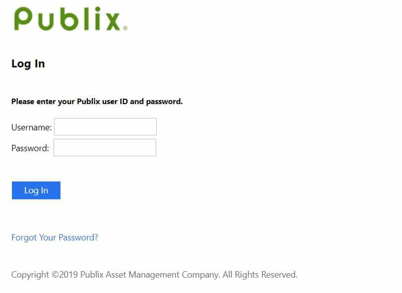 publix passport portal